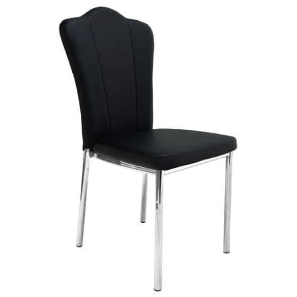 """O piesă contemporană, pentru bucătăria Dumneavoastră: scaunul de bucătărie Y93, negru, de la """"promoţii-scaune.ro"""""""