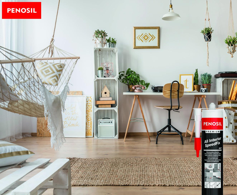 Cum să lipești orice element decorativ în casă, rapid și sigur