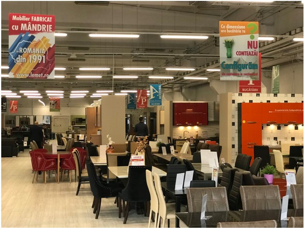 LEMS își extinde rețeaua cu 2 noi magazine și crește cu 3 procente la 10 luni
