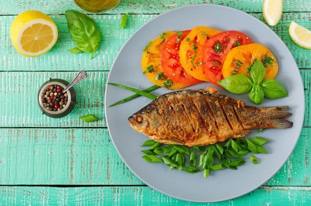 Pentru o dietă echilibrată, consumă peşte de cel puţin două ori pe săptămână