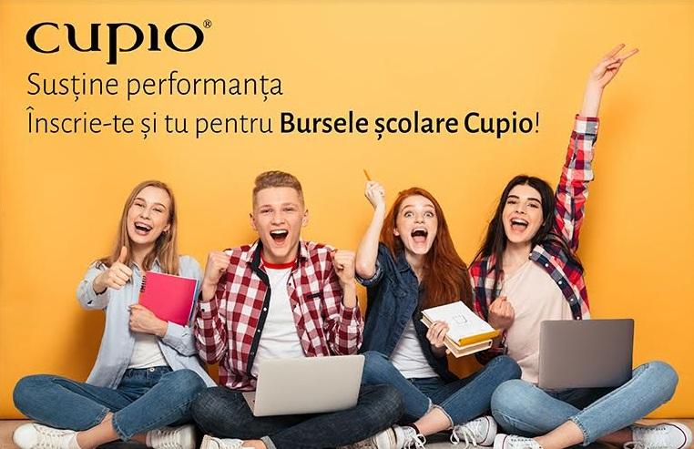 """""""Bursele Cupio"""" îi premiază pe liceenii cu rezultate școlare remarcabile"""