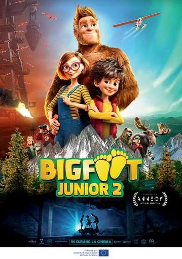 Bigfoot Junior 2 şi Fast and Furious 9 se văd la Cineplexx din 25 iunie