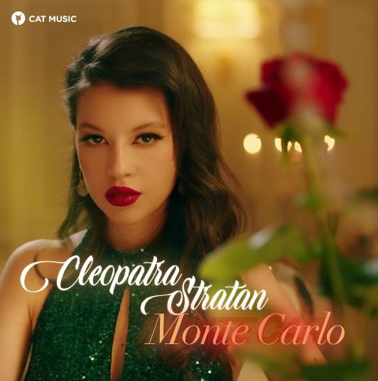 """Cleopatra Stratan ne poartă pe note muzicale până la """"Monte Carlo"""" în cea mai recentă piesă"""