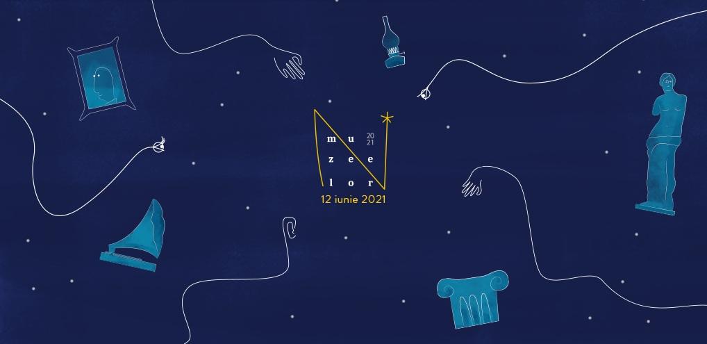 Pe 12 iunie, evenimentul Noaptea Muzeelor este organizat şi în spațiul fizic