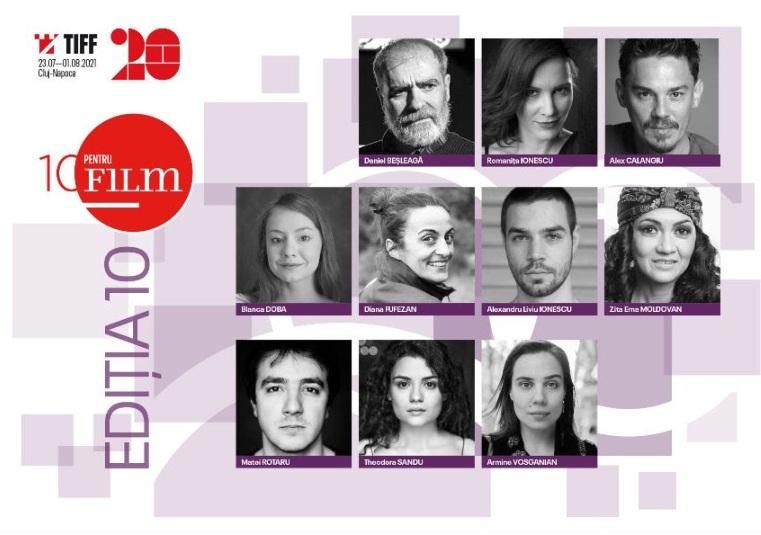 Au fost anunţaţi actorii selectați la cea de-a 10-a ediție a programului 10 pentru FILM