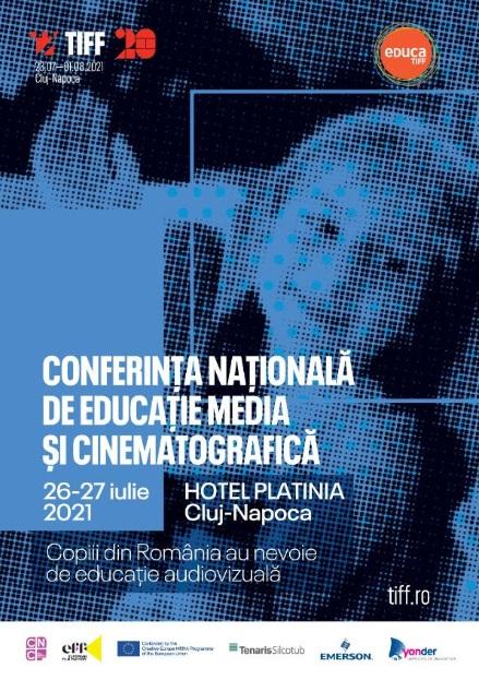 La TIFF 2021 se va desfăşura Conferința Națională de Educație Media și Cinematografică