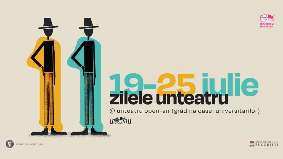 Dacă e vară, atunci spectacol să fie! Festivalul Zilele unteatru inaugurează proiectul Unteatru Open-Air